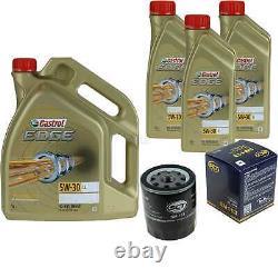 Sketch D'Inspection Filtre Castrol 8L Huile 5W30 Pour VW Polo 6R 6C 1.4 Tdi