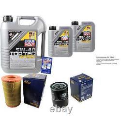 Sketch D'Inspection Filtre Huile Liqui Moly 7L 5W-40 pour Fiat Ducato Bus 244