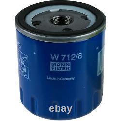 Sketch D'Inspection Filtre LIQUI MOLY Huile 5L 10W-40 Pour Fiat