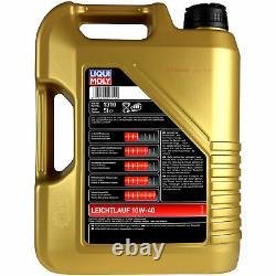 Sketch D'Inspection Filtre LIQUI MOLY Huile 6L 10W-40 Pour Fiat De