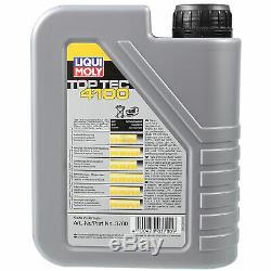 Sketch D'Inspection Filtre LIQUI MOLY Huile 6L 5W-40 Pour Fiat De