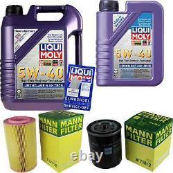 Sketch D'Inspection Filtre LIQUI MOLY Huile 6L 5W-40 pour Fiat Ducato Bus 230