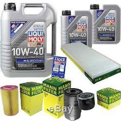 Sketch D'Inspection Filtre LIQUI MOLY Huile 7L 10W-40 Pour Fiat De