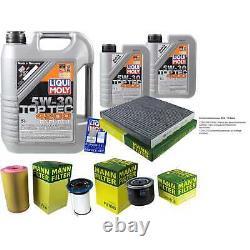 Sketch D'Inspection Filtre LIQUI MOLY Huile 7L 5W-30 Pour Fiat Ducato