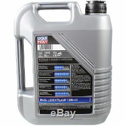 Sketch D'Inspection Filtre LIQUI MOLY Huile 8L 10W-40 Pour Fiat De