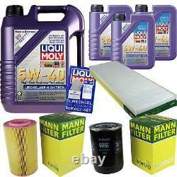 Sketch D'Inspection Filtre LIQUI MOLY Huile 8L 5W-40 Pour Fiat De
