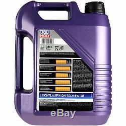 Sketch D'Inspection Filtre Liqui Moly Huile 10L 5W-40 pour Fiat Punto Van 176L